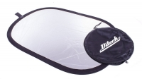 Отражатель Ditech RF100150WS 100х150 см white/silver