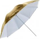 """Зонт Ditech UB33WG 33""""(84 см) white/gold на отражение"""